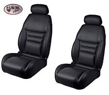 Black Front Bucket Seat Upholstery, Original Style for 1994-96 Mustang GT, Cobra