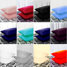 Luxury Housewife Pillowcases 100% Egyptian Cotton  200TC Plain Dyed Many Colors