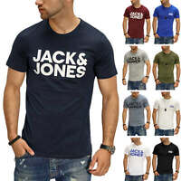 Jack & Jones Herren T-Shirt Print Shirt Kurzarmshirt Short Sleeve Casual SALE %