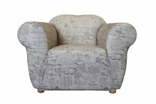 SureFit Stretch Statement Prints Couch Lounge Sofa Recliner Cover 5 Patterns Signature Natural 1 Seater