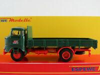 """Busch/Espewe 95178 IFA W50L Sp (1984) """"Hungarocamion"""" in grün 1:87/H0 NEU/OVP"""