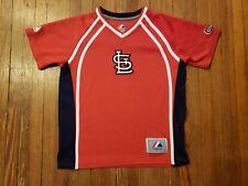 St Louis Cardinals Majestic Red Shirt Boy's Size 7