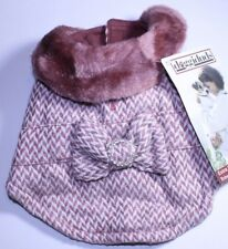 DoggiDuds Pet Fashion Dog Winter Sweater Fancy Broach Extra Small New