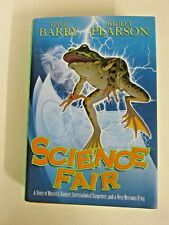SCIENCE FAIR by Ridley Pearson SIGNED 1st Edition Hardback Book