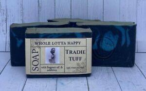 BULK 3 Pack Handmade ~ TRADIE TUFF ~ Fragrance Oil Soap AUSTRALIAN MADE