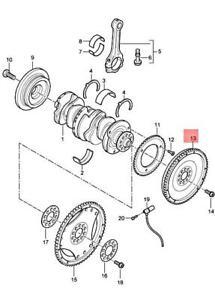 Genuine PORSCHE Cayenne 9PA1 Dual-Mass Flywheel 95511401210