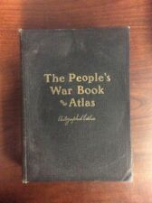 The People's War Book & Pictorial Atlas Of The World (Hardback, 1920) SIGNED