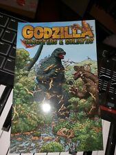 Godzilla Gangsters and Goliaths Layman Graphic Idw Comic Book Rare! Oop!