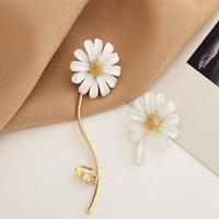 Women Sunflower Stud Ear Drop Dangle Flower Long Earrings Fashion Jewelry AU