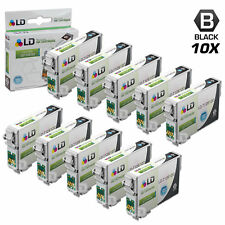 LD © Remanufactured Epson T126120 Set of 10 High Capacity Black Ink
