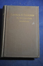 1892 Charles H. Spurgeon, His Life and Works by H. L. Wayland