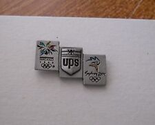 1998 - 2000 UPS Nagano Sydney Pewter Olympic Bridge Pin
