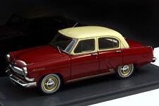 GAZ-21H Volga - kirschrot / hellelfenbein - 1965 1:43 - VVM035 - OVP - sehr rar