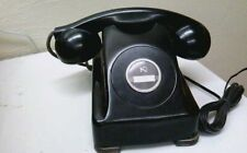 Kellogg Red Bar 1040-Sb Non-Dial Telephone Works Antique Vintage 40'S Bakelite