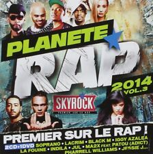 ♫ - PLANÈTE RAP 2014 - VOL. 3 - 2 CD + 1 DVD - NEUF NEW NEU ♫