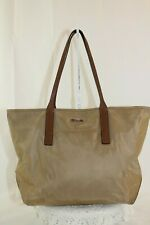 TUMI Leather Trimmed Q-Tote with TUMI Tracer in Sahara #0482904 Retail $245