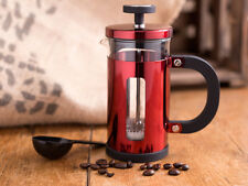 LA CAFETIERE Pisa 3 Cup METALLIC RED Coffee Maker With Scoop