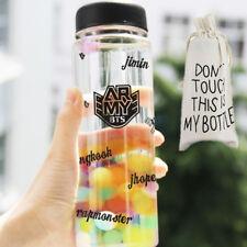 KPOP BTS MY Bottle ARMY Water Cup Bangtan Boys 2016 Outdoor Sports Mug Jung Kook