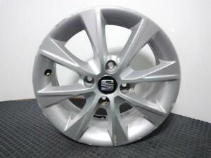 SEAT Mii 2012 On 14 Inch Alloy Wheel 4X100 5J ET35