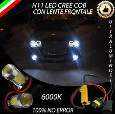 COPPIA LAMPADE FENDINEBBIA H11 LED CREE COB CANBUS CHRYSLER 300C 300 C NO ERROR