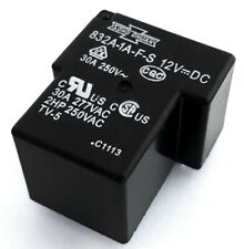 832A-1A-F-S-12VDC 30A 12V PCB General Purpose Power Relays SPST (2 pcs)