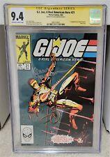 G.I. JOE #21 (1984) CGC 9.4 SS - 1st Print 1st Storm Shadow Marvel Comics Key
