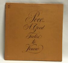 Poco A Good Feelin To Know LP Record Excellent Condition Song Book