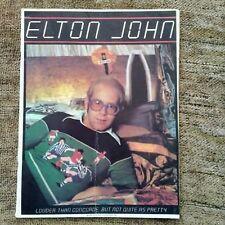 Elton John louder than Concorde but not quite as pretty to a program