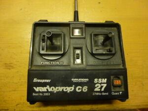antike Fernsteuerung - Graupner varioprop C6