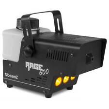 BeamZ RAGE 600LED - Machine à fumée avec contrôleur sans fil, 600 W, avec 2 télé