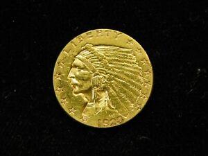1928-P $2.50 Indian Head Gold Quarter Eagle