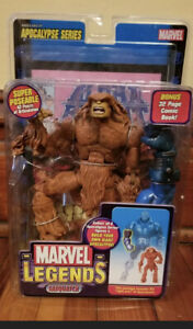 Marvel Legends Apocalypse Series Brown Sasquatch Action Figure Toy Biz 2005 NEW