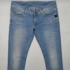 G-Star Lynn Skinny WMN 60367 W32 L34 blau Damen Designer Denim Jeans Hose Retro