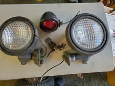 John deere round fender 110 112 headlights , Taillight and switch