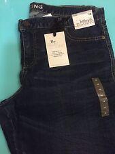Women Denim jean New York & Co.Size 18 Low Rise Full Length Legging New