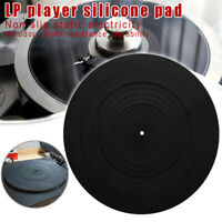 Anti-vibration Pad Rubber LP Mat for Phonograph Turntable Vinyl Record Player