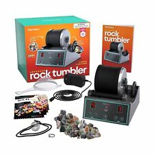Advanced Professional Rock Tumbler Kit - with Digital 9-day Polishing timer &...