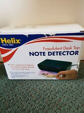 Helix UV Note Detector machine for desktop