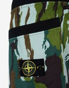 Stone Island Flowing Camo Shorts SMALL