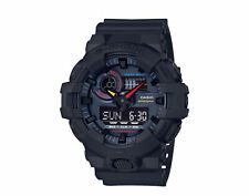 Casio G-Shock GA700 Neo Tokyo A/D Resin Black Men's Watch GA700BMC-1A