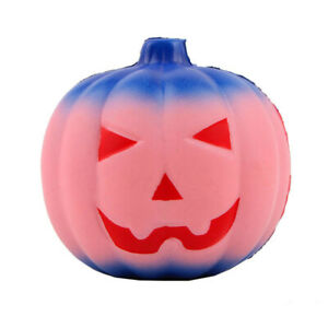 Halloween Pumpkin Squeeze Toy Scented Stress Relief Toys Antistress Vent T Y1