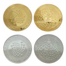 Souvenir Challenge Coin IOTA Virtual Coin Commemorative Coin Art Collection Gift