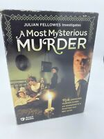 Julian Fellowes Investigates A Most Mysterious Muder - DVD Boxset