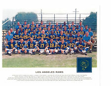 1962  LOS ANGELES RAMS TEAM 8X10 PHOTO GABRIEL OLSEN   FOOTBALL NFL USA