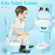 Baby Training Potty Toilet Seat Portable Toddler Chair Kids Girl Boy Trainer Us