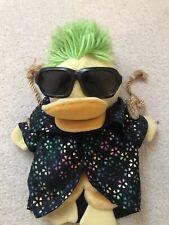 Edd The Duck Vintage Puppet. BBC 1990 Golden Bear Original. Rare Star Duck