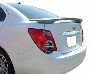 PAINTED CHEVROLET SONIC 2-POST FACTORY STYLE SPOILER 2012-2020