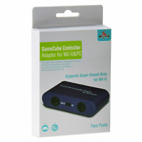 Mayflash Adapter for GameCube Controller to Wii U & PC (2 Ports)