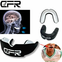 CFR Mouth Guard Shield Case MouthPiece Boxing Basketball Gum Teeth Protector AM