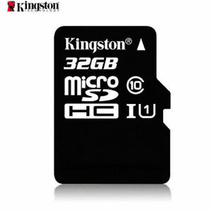 High Speed 32GB 80MB/S TF Flash MicroSDHC Memory Card Class10 UHS-I With Adapter
